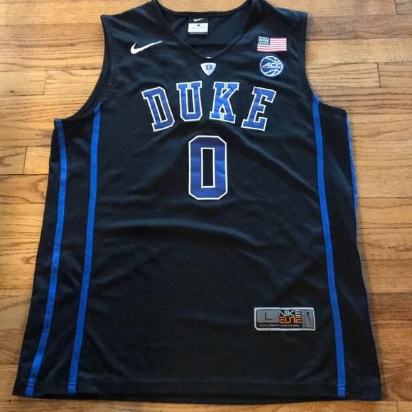 low priced 6e801 5f718 Mens Nike Duke Basketball Jersey #0 Tatum
